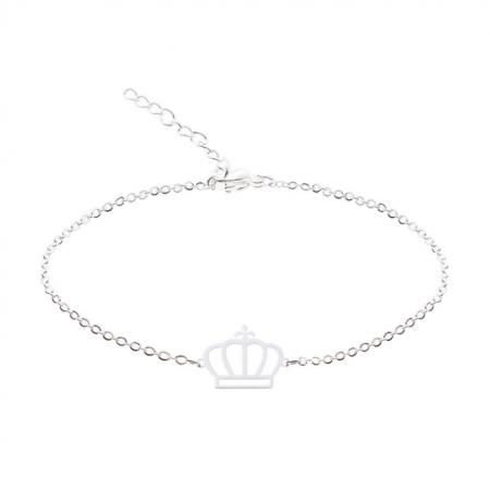 Bratara placata cu argint - Coroana