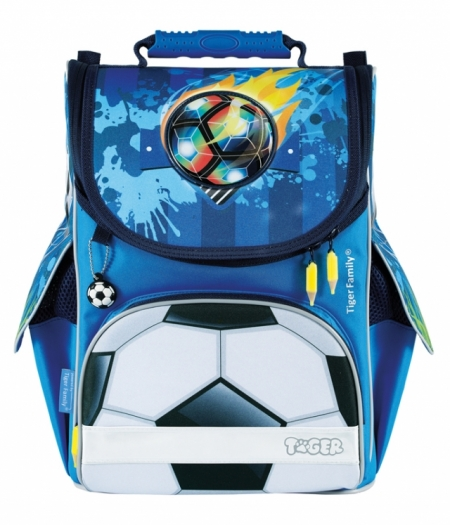 GHIOZDAN ERGONOMIC NEECHIPAT DIMENSIUNE 35X31X19CM MOTIV NATURE QUEST FOOTBALL ON FLAMES
