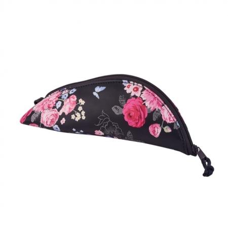 NECESSAIRE PIELE SINTETICA DIMENSIUNE 20,5X7X10CM, MOTIV COCOON LADYLIKE FLOWERS