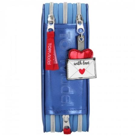 PENAR ECHIPAT CU 3 COMPARTIMENTE TOP MODEL LOVE LETTERS