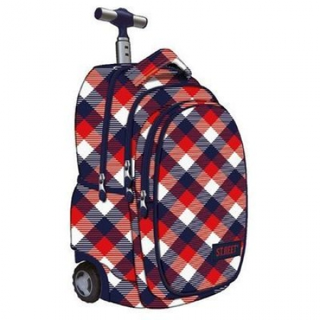 RUCSAC TROLLER CU 4 COMPARTIMENTE ST.RIGHT TB1 CHECKERED SIX