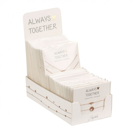 """SET 2 COLIERE  """"ALWAYS TOGETHER"""