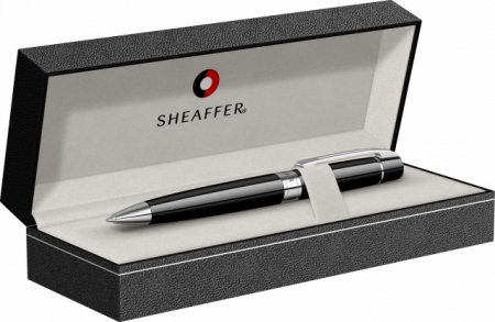 Set de lux pix si stilou Sheaffer 300 negru GT