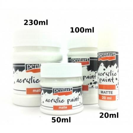 Vopsea acrilica Pentart 50 ml diverese culori