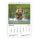 Calendar de perete cu imagini Wildlife