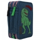 Penar echipat cu 3 compartimente Dino World cu paiete