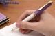 PIX SOUVERAN K600 MINA TIP PARKER, ACCESORII PLACATE CU AUR, CORP VIOLET-WHITE