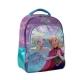 Rucsac Lamonza Frozen 3, 24x12x17 cm, pentru scoala, multicolor, spate ergonomic, buretat si bretele ajustabile