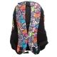 Rucsac scolar Lamonza Joy, spate ergonomic, multicolor