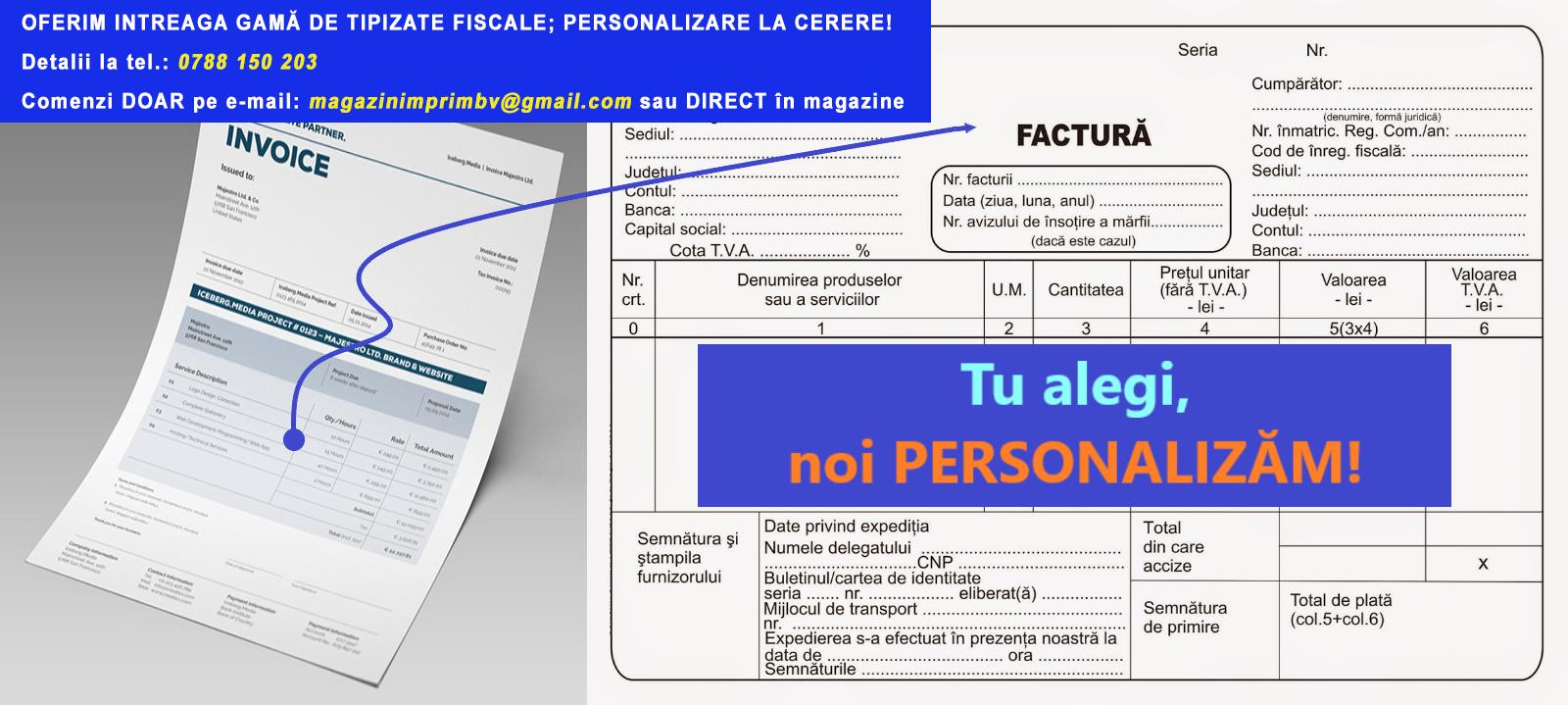 Oferta tipizate personalizate